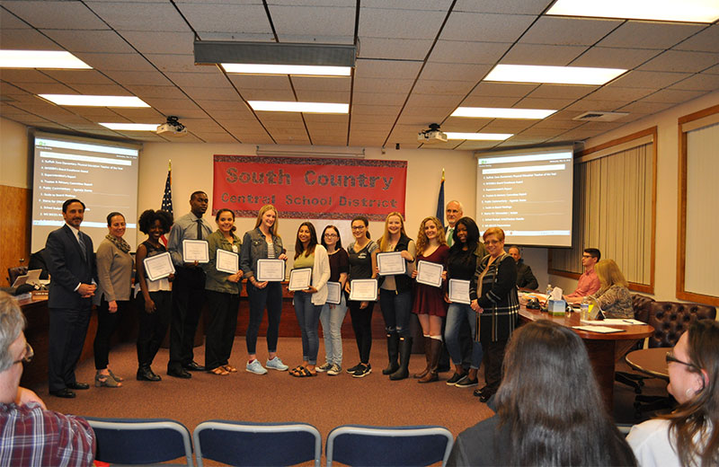 Bellport High School Musical Production Student Commendations