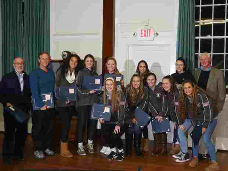 Bellport Village Board Recognizes Girls Volleyball and Boys Cross Country