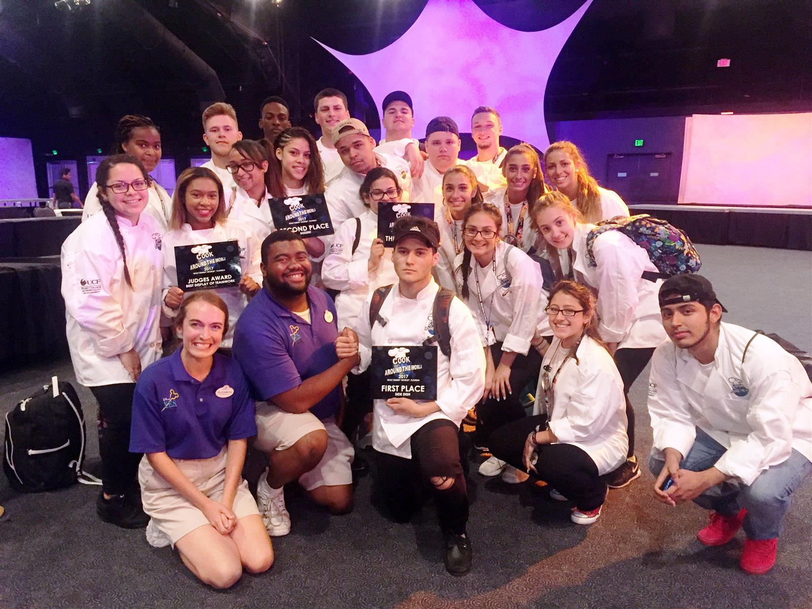 BHS Culinary Arts Team Wins at 'Cook Around the World' Competition