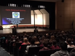 Internet Safety Presentation at Bellport HS