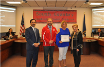 Suffolk Zone Elementary Physical Education Teacher of the Year photo