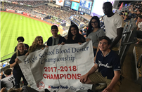 New York Blood Services Recognizes Bellport High School's  National Honor Society photo