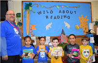 Kreamer Street is 'Wild About Reading' photo